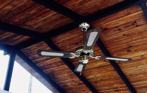balancear ventilador de techo con zumbido