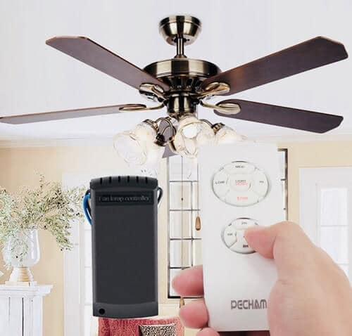 ¿Cómo instalar un ventilador de techo con mando a distancia?