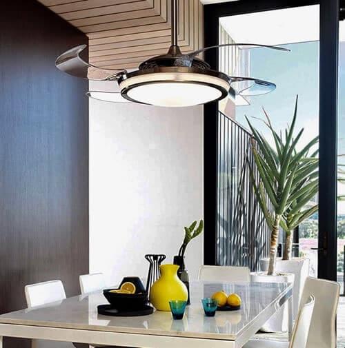 modelos Ventilador de techo Fanaway con luz