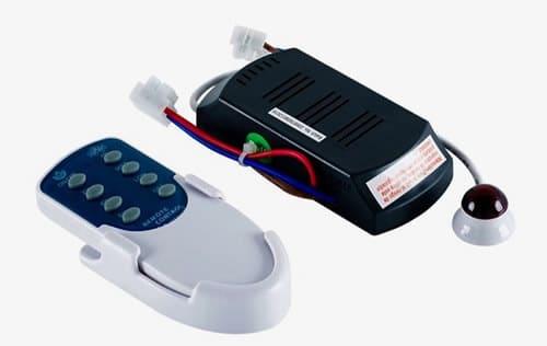 receptor y mando a distancia de ventilador de techo