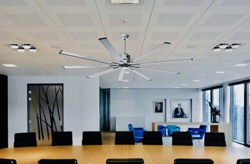 sujetar ventilador de techo
