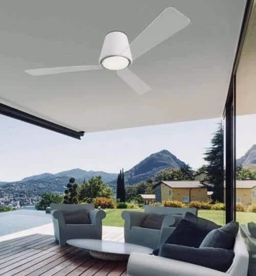 tipos de ventiladores de techo para exterior