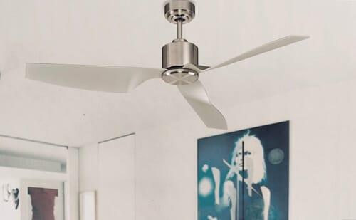 ventilador de techo sin luces moderno